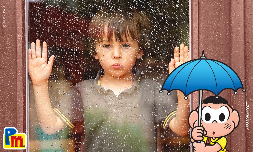 Foto - Faça você mesmo: Brincadeiras em um dia de chuva